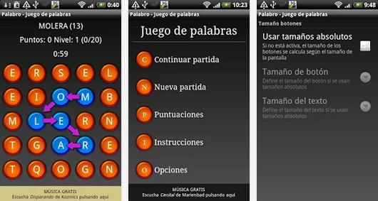 Captures app Palabro